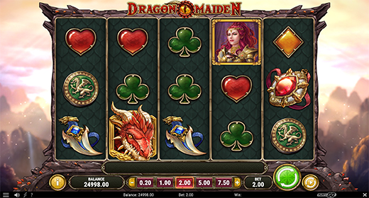 Dragon Maiden slot game preview