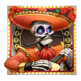 Grim Muerto Payout Table - symbol Red Mariachi