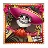 Grim Muerto Payout Table - symbol Pink Mariachi