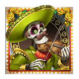 Grim Muerto Payout Table - symbol Green Mariachi