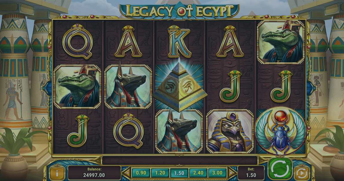 Play Legacy of Egypt demo version for free