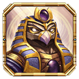 Legacy of Egypt Payout Table - symbol Horus