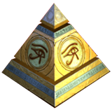 Legacy of Egypt Payout Table - symbol Pyramid