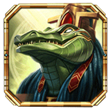 Legacy of Egypt Payout Table - symbol Sobek