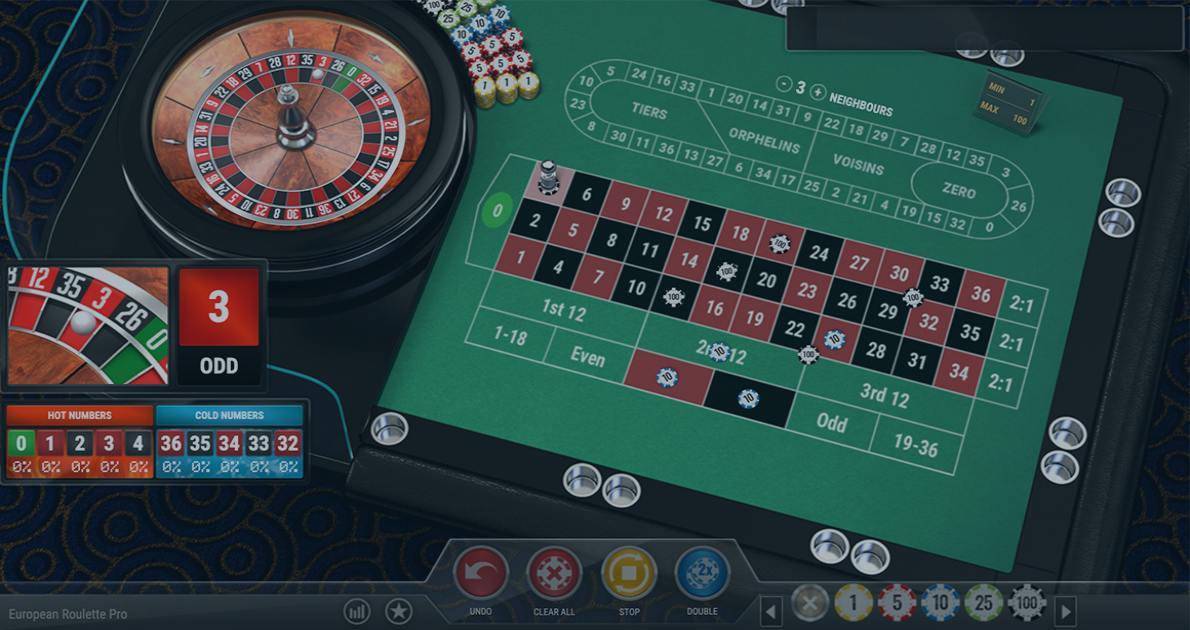 Play European Roulette Pro by Play'n GO for free