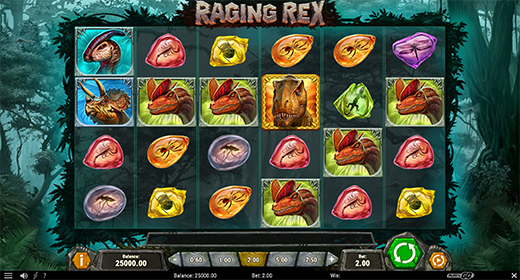 Raging Rex in game preview