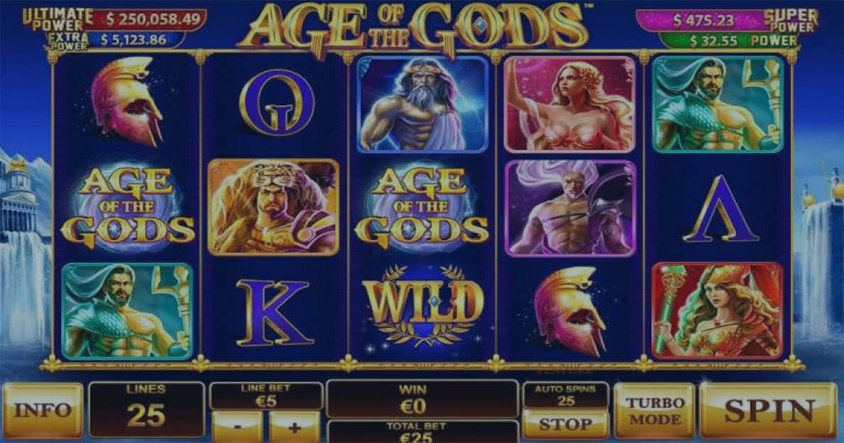 Play Age of the Gods demo version for free
