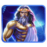 Age of the Gods Payout Table - symbol Zeus