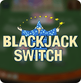 Blackjack Switch by Playtech game poster
