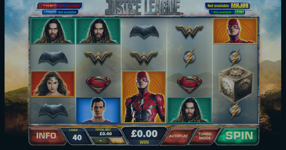 Play Justice League Slot Game Demo