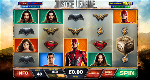 Justice League in game preview