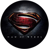 Man of Steel slot Logo