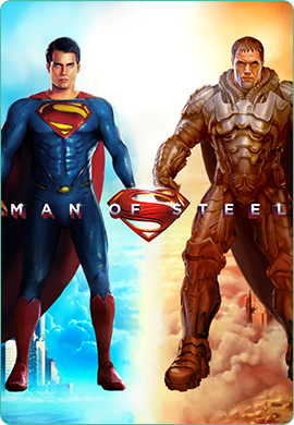 Man of Steel game poster