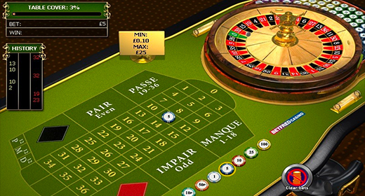 French Roulette by Playtech