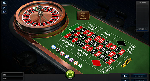 Premium French Roulette by Playtech game preview