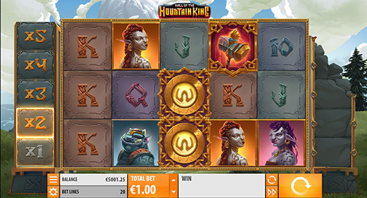 Hall of the Mountain King In-Game