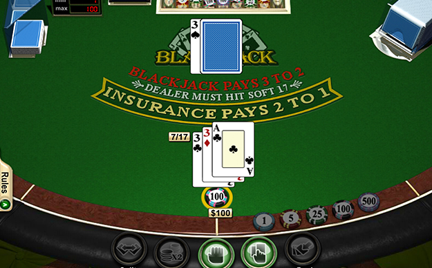 21 Blackjack Game Preview