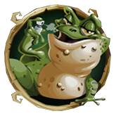Bubble Bubble Payout Table - symbol Frog