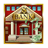 Cash Bandits Payout Table - symbol Bank