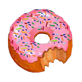 Cash Bandits Payout Table - symbol Donut