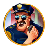 Cash Bandits Payout Table - symbol Policeman