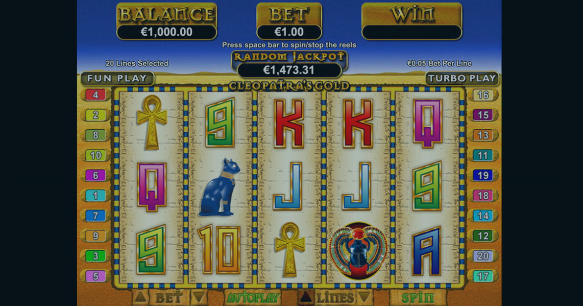 Play Cleopatra's Gold Slot Game Demo