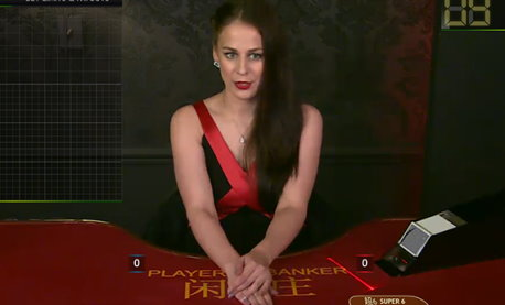 Play online casino games against a live dealer