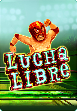 Lucha Libre game poster