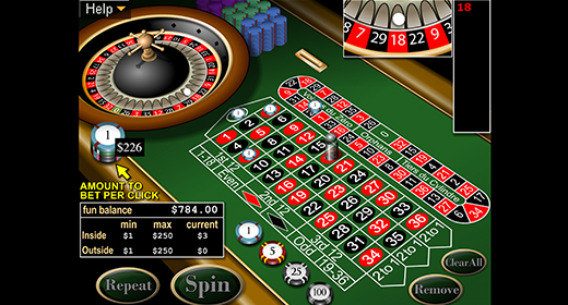 European Roulette by Realtime Gaming