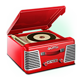 The Big Bopper payout table - symbol Record Player