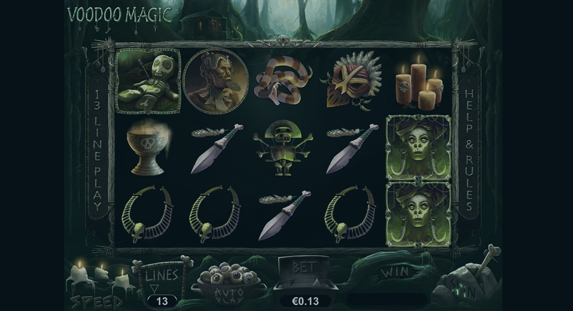 Play Voodoo Magic demo version for free