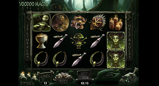 Voodoo Magic in game preview