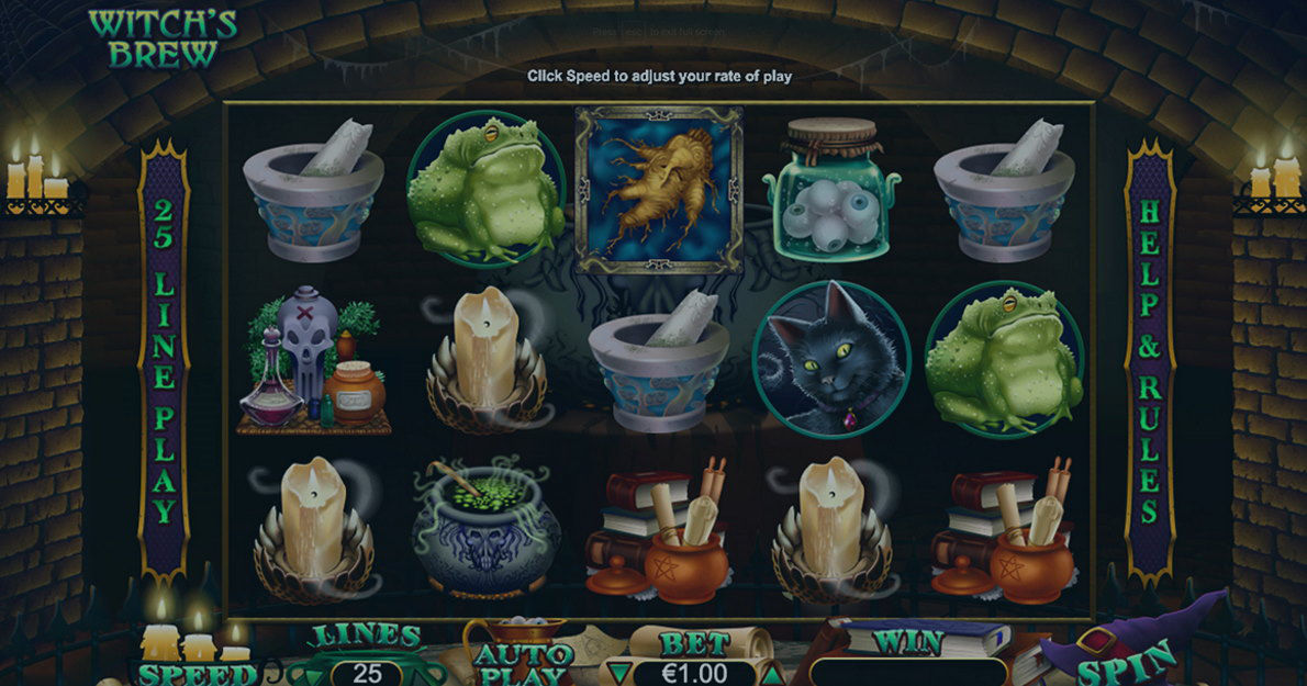 Play Witch's Brew Slot Game Demo