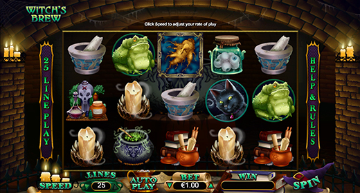 Witch's Brew in game preview