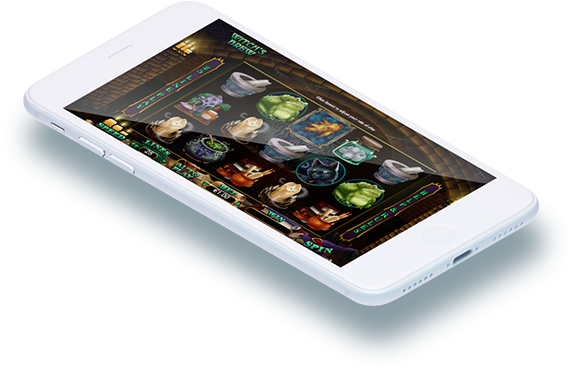 Play Witch's Brew Slot on Mobile