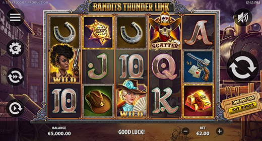 Bandits Thunder Link game preview