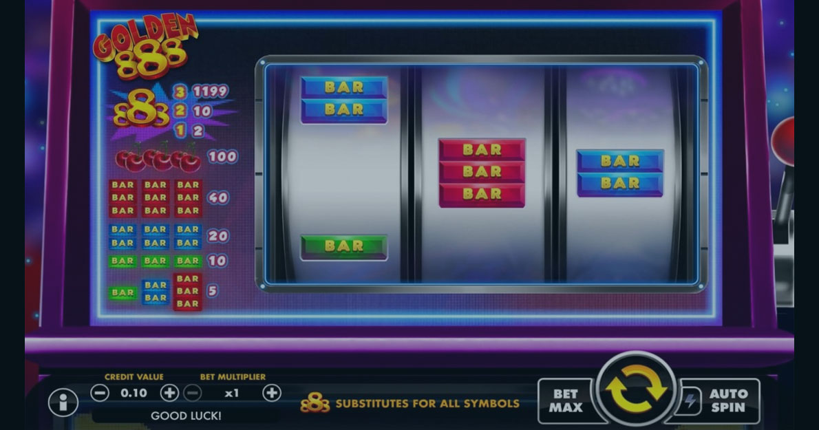 Play Golden888 slot demo for free