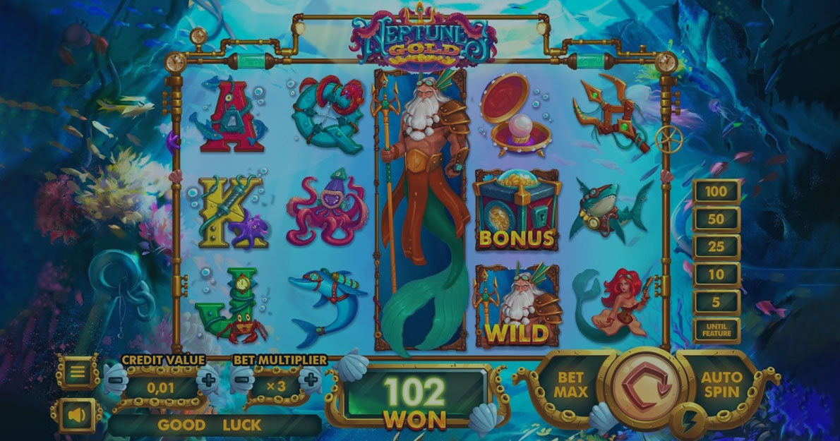 Play Neptune's Gold slot demo for free