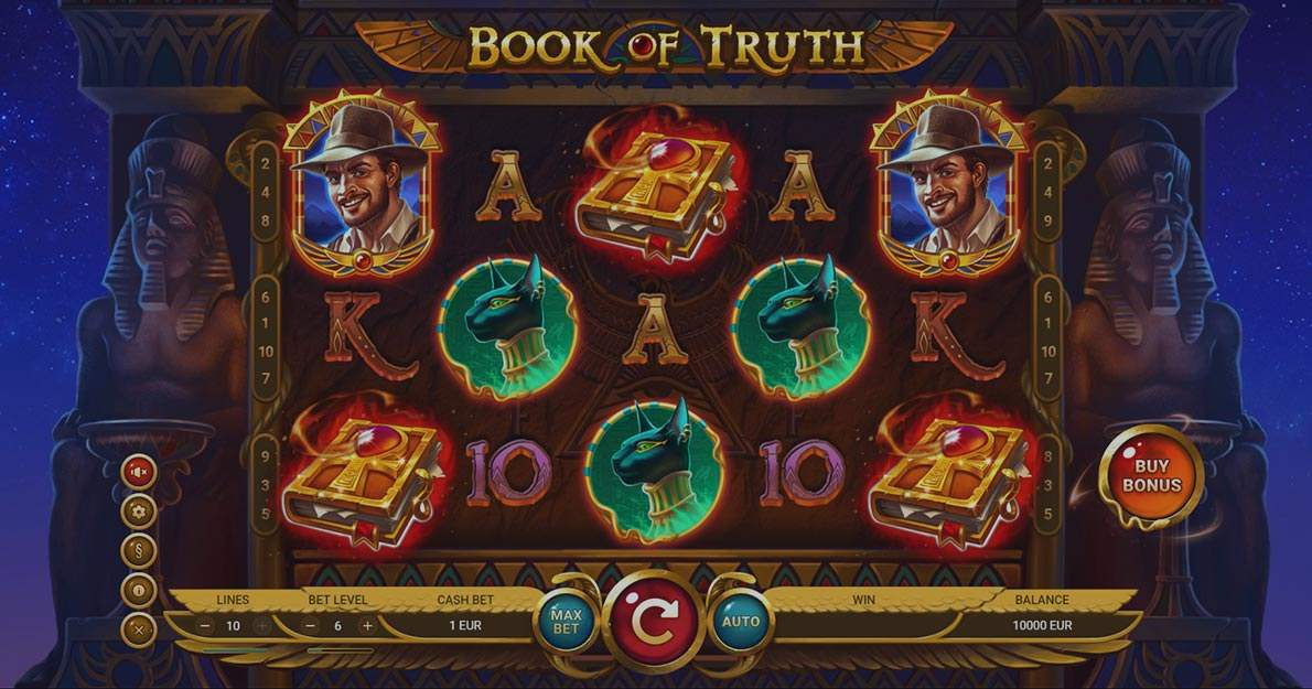 Book of Truth online slot demo