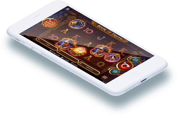 Book of Truth video slot mobile play