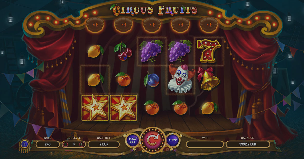 Play Circus Fruits demo version for free
