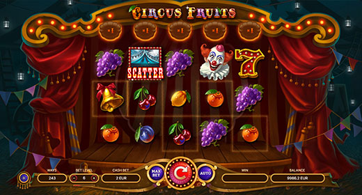 Circus Fruits in game preview 1