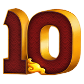 9 Lions Payout Table - symbol 10