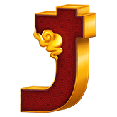 9 Lions Payout Table - symbol J