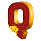 9 Lions Payout Table - symbol Q