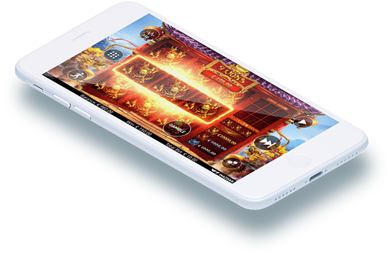9 Lions video slot mobile play