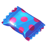 Choco Reels Payout table  - symbol Blue Candy