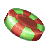 Choco Reels Payout table  - symbol Green Candy