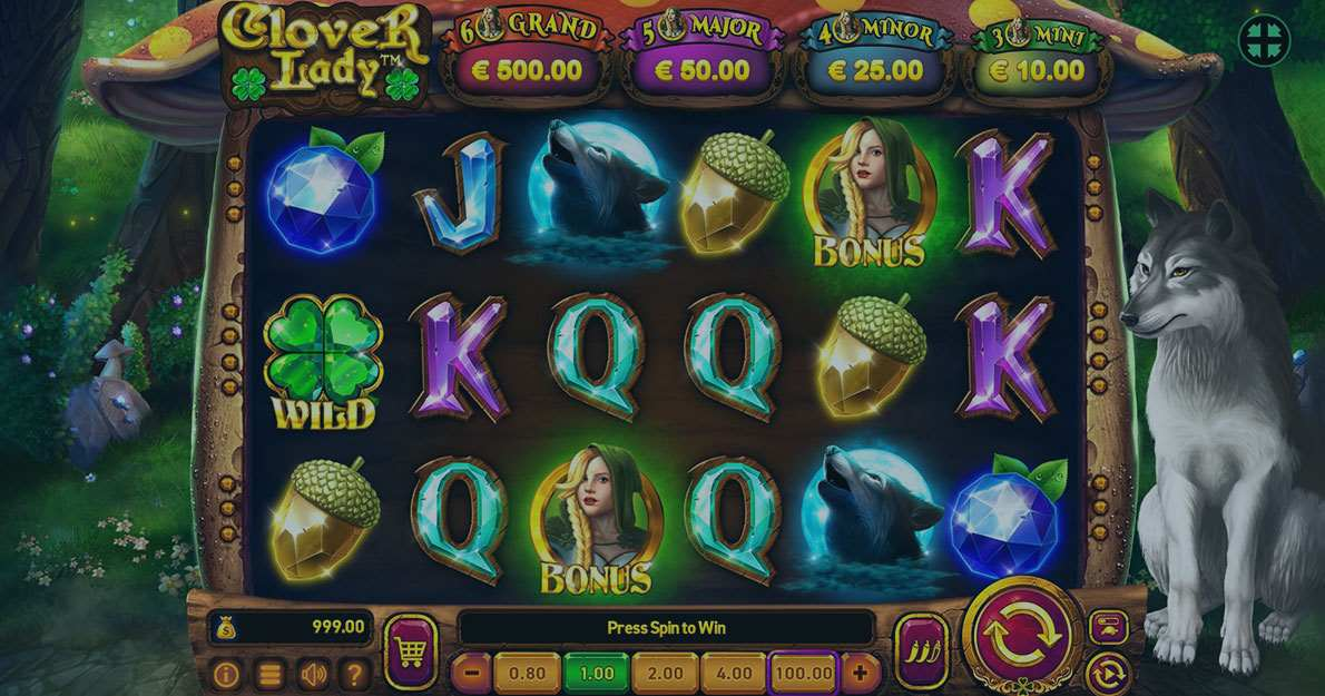 Play Clover Lady Slot demo for free