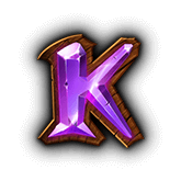 Clover Lady Payout Table - symbol K